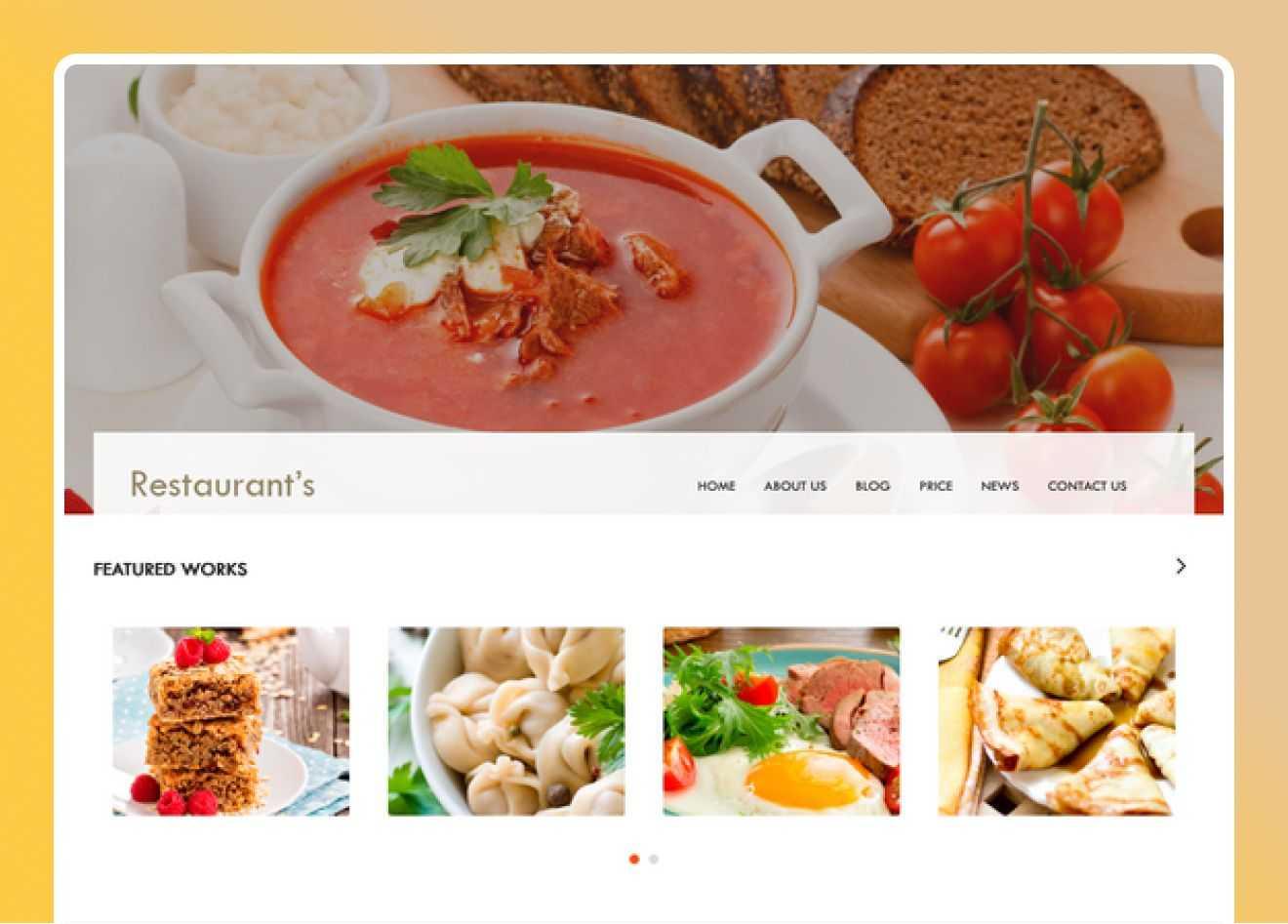 Restaurant- cover