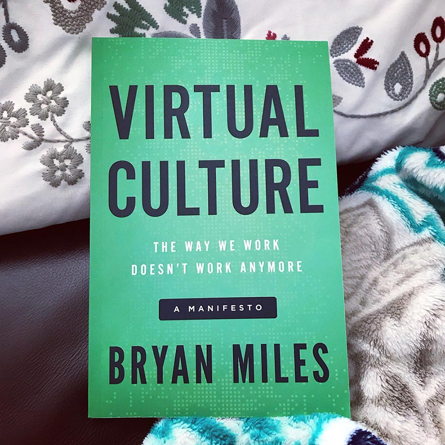 The cover for Virtual Culture; The Way We Work Doesn't Work Anymore