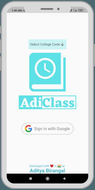 AdiClass_App_Login