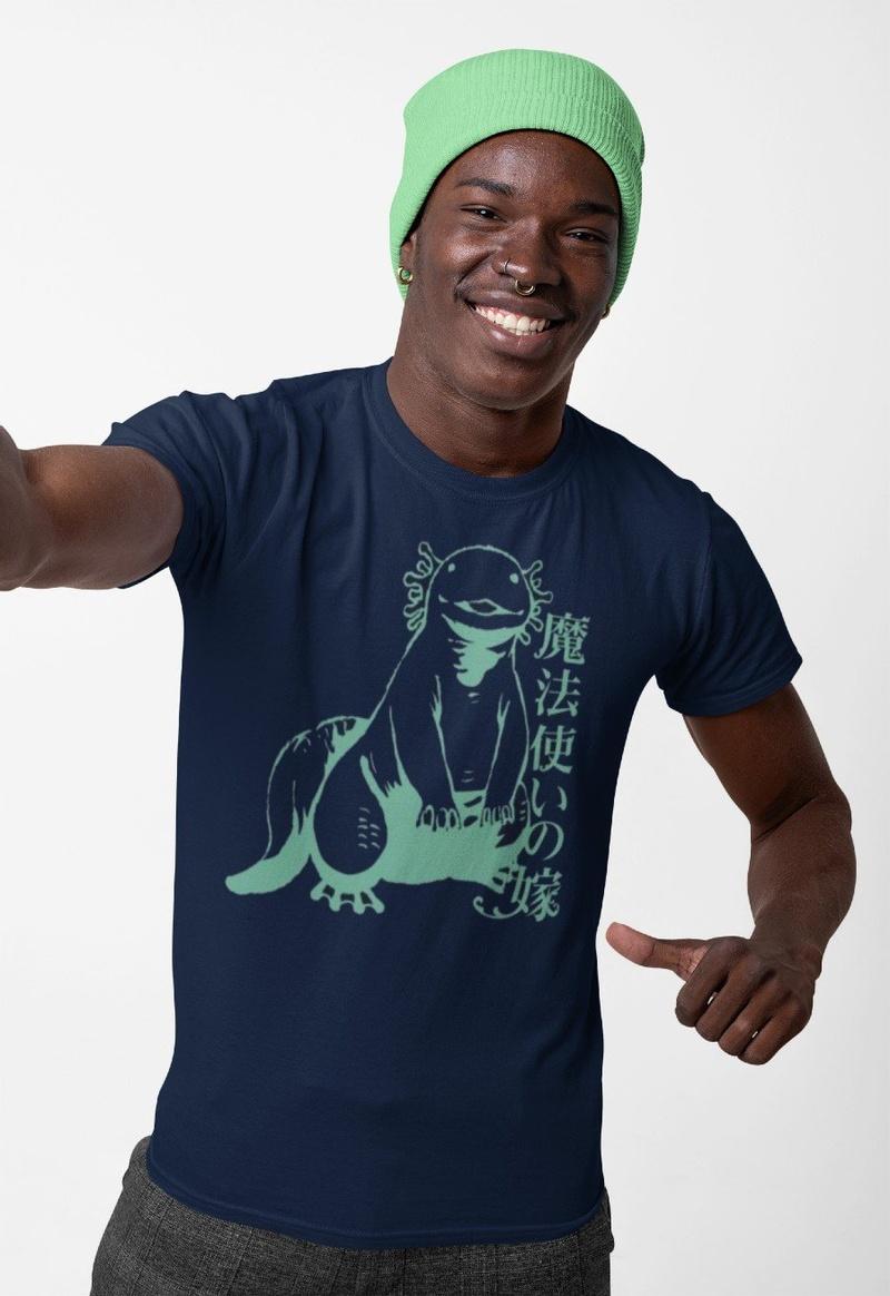 Ancient Magus Bride Blue T-shirt
