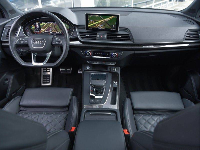 Audi Q5 3.0TDI 286 pk quattro Lucht S-Line Head-Up B&O LED Pano Standk ACC Carbon 21-Inch afbeelding 5