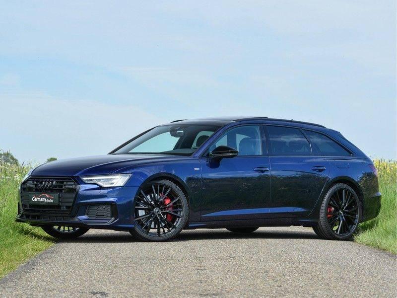 Audi A6 Avant 55TFSI 367pk S-Line Quattro Black Optic Navarra Pano Led Zetels Audi-Sound M-Led Priveglas afbeelding 6