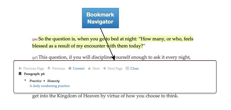 Bookmark Navigator