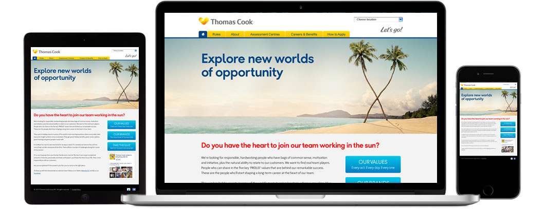Thomas Cook screenshots