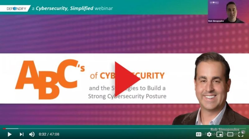 ABC's of Cybersecurity and the strategies to build a strong cybersecurity posture