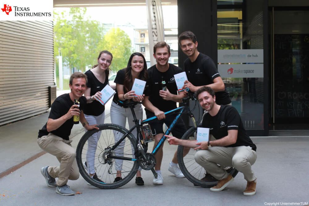 Team BikeGuard Front