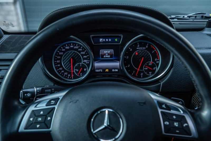 Mercedes-Benz G-Klasse 63 AMG, 571 PK, Full/Black Optiek, Schuif/-Kanteldak, TV, Harman/Kardon, Designo leder, Distronic, 57DKM!!! afbeelding 15