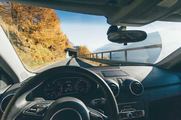 Auto in bergen