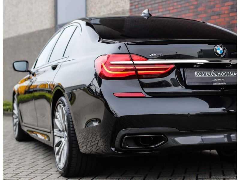 BMW 7 Serie 750d xDrive *M-sport*Head-Up*Asistant Plus* afbeelding 23