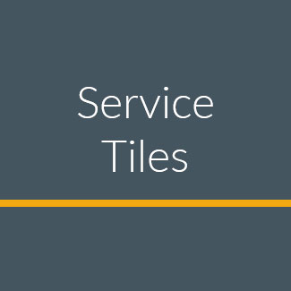 service tiles help and support video