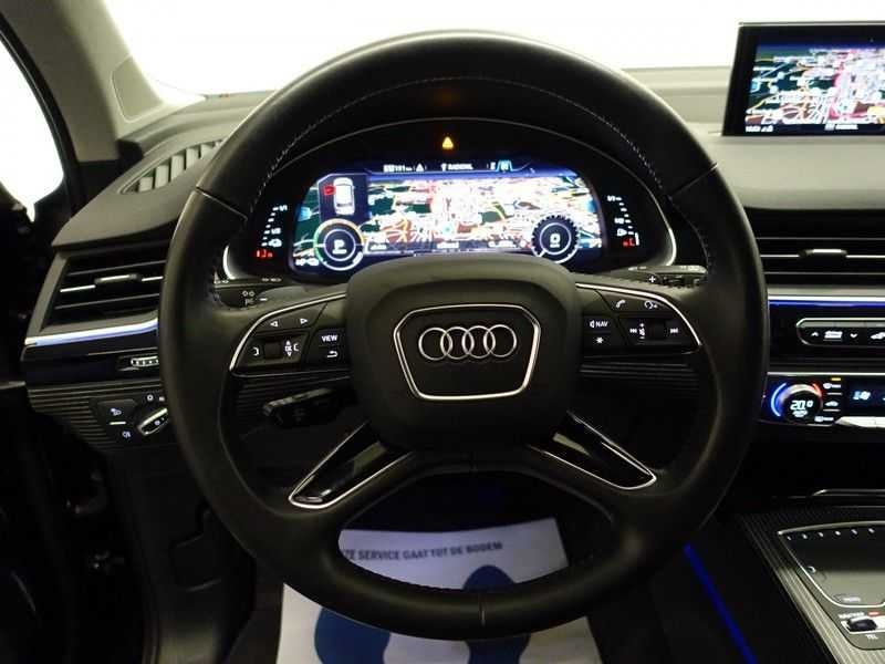 Audi Q7 3.0 TDI e-tron 374pk Quattro S-Line Autom- Bose, Virtual Cockpit, 360 Camera, Park Assist, Leer afbeelding 4