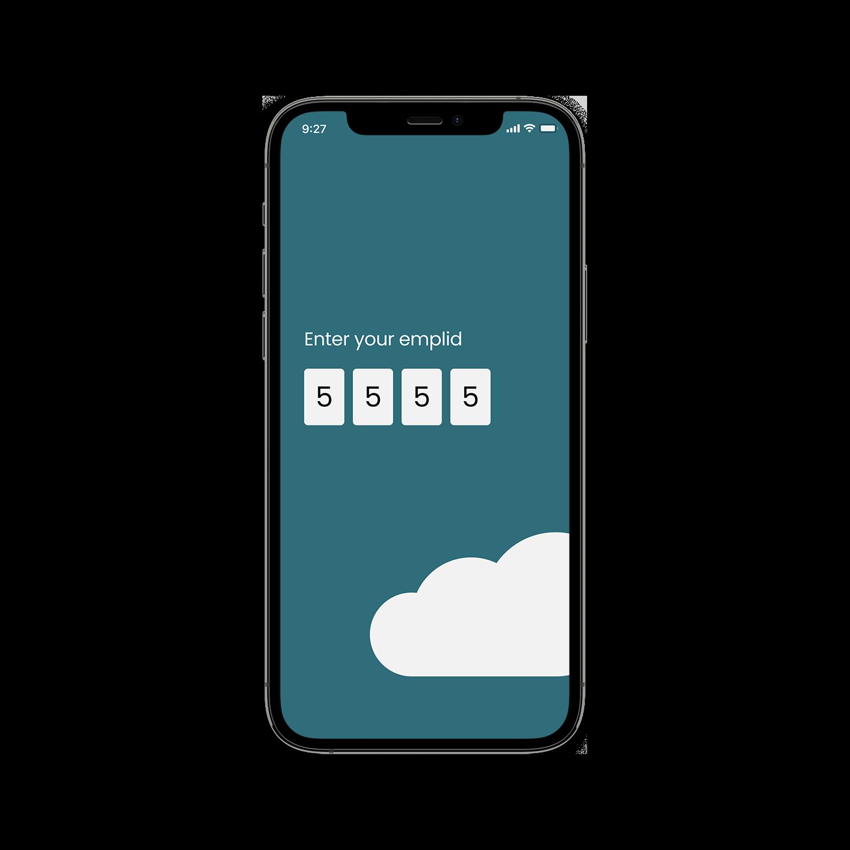 SafeHaven ID input screen