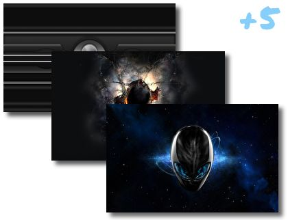 Alienware theme pack