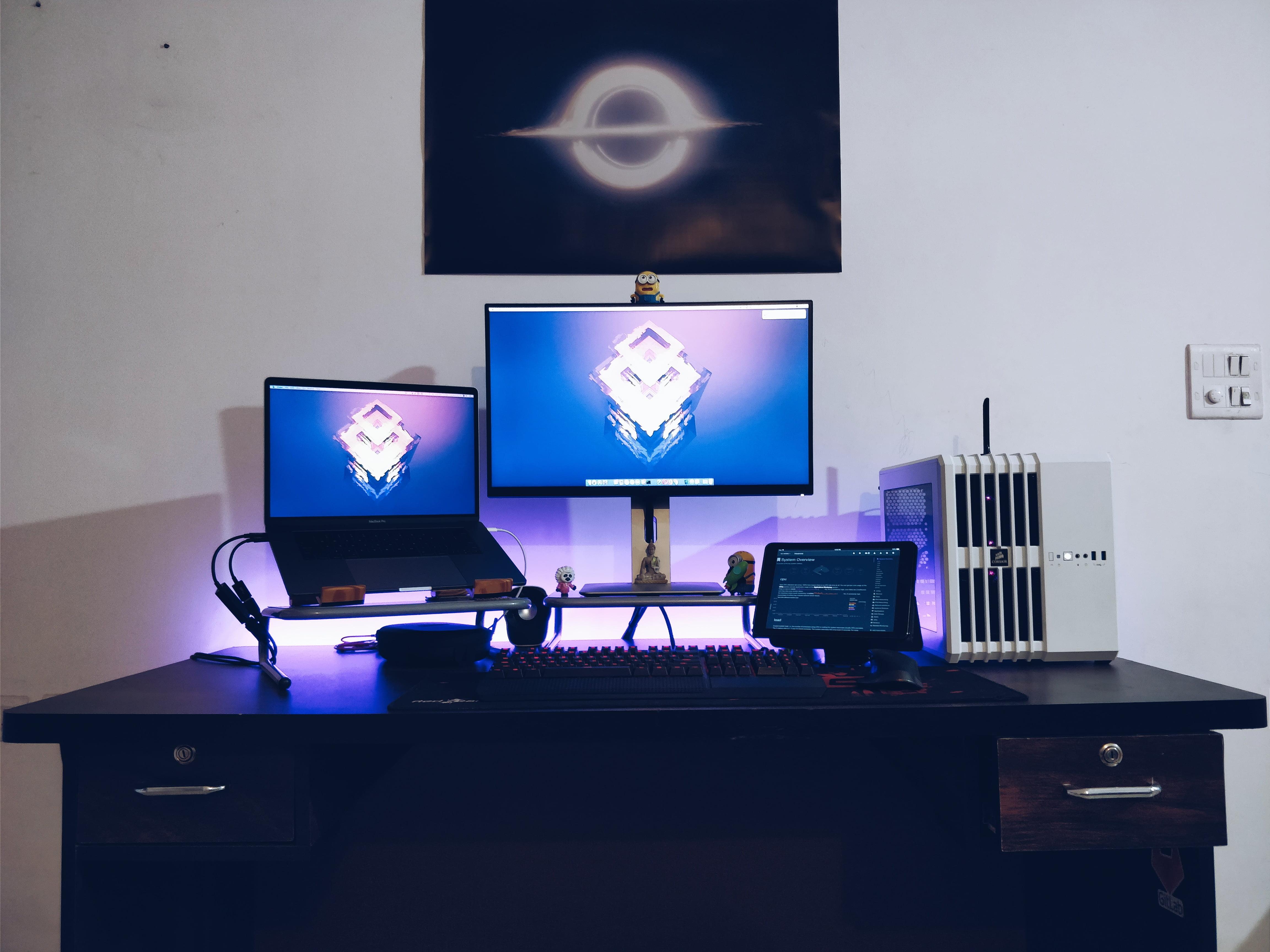 Kushal Pandya's Desk
