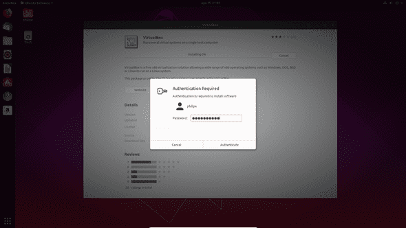 Instalador Ubuntu Senha