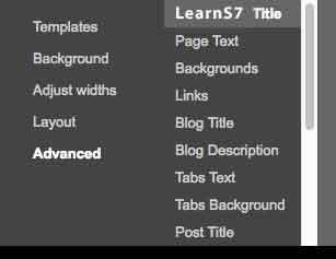 group description in theme designer