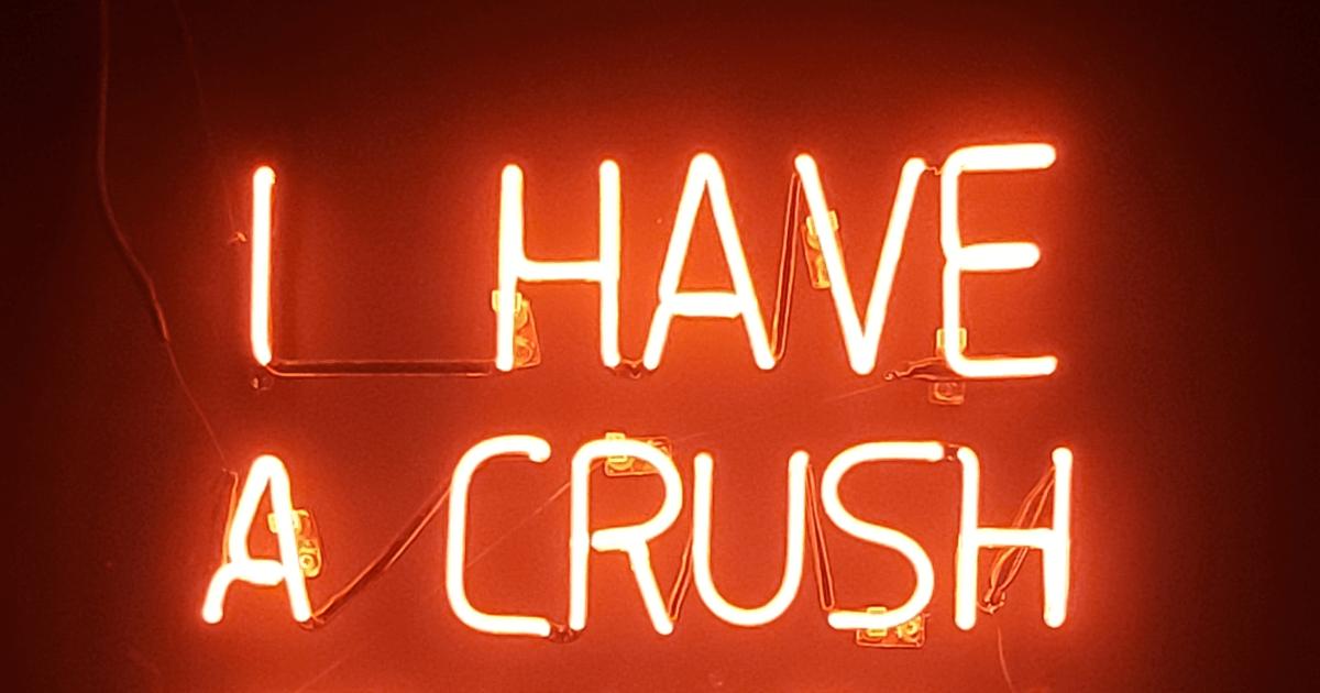 I have a crush on you. Русский перевод: «Я от тебя без ума». Фото: Unsplash