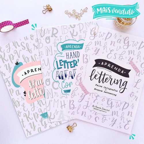 Capa Super kit Apostilas de Lettering
