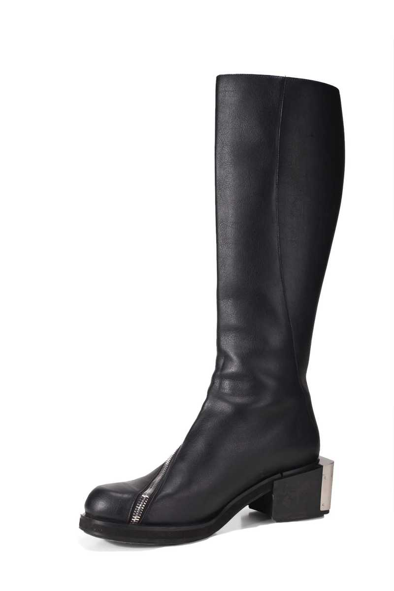 Riding boot in pleather black GmbH AW21 -4