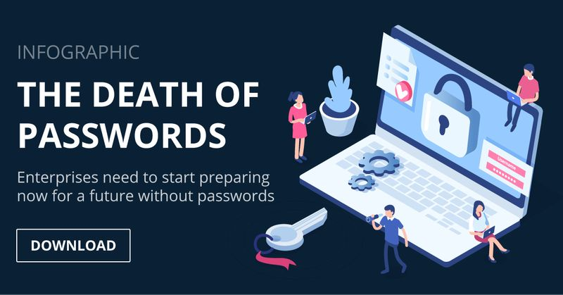 The Death of Passwords [Infographic]