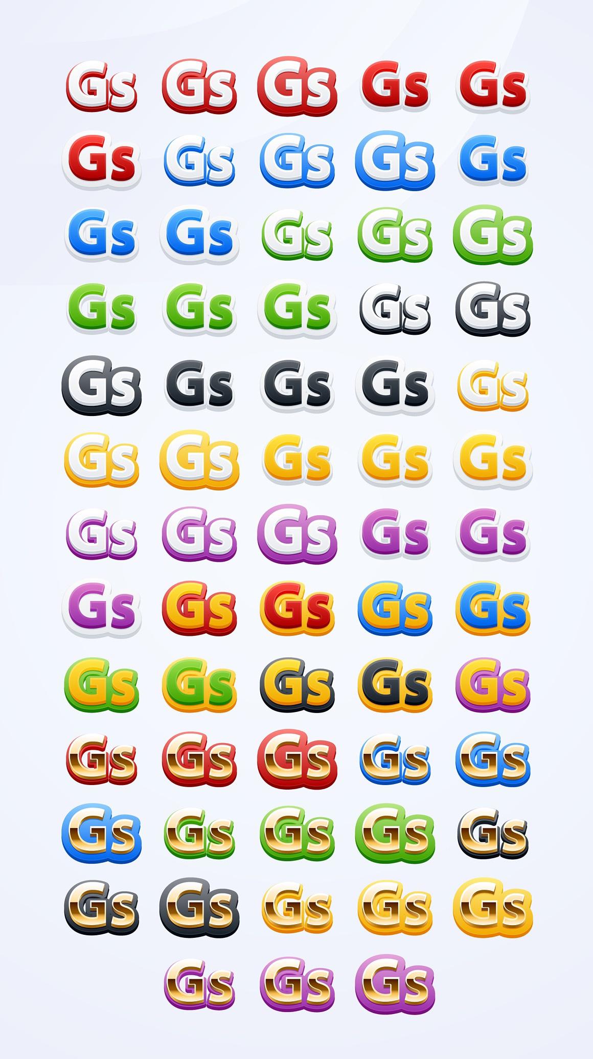 Funny Adobe Illustrator Styles images/funny_2_styles.jpg