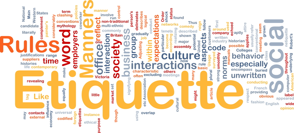Image - The components of Etiquette