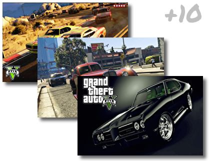 Grand Theft Auto 5 Cars theme pack