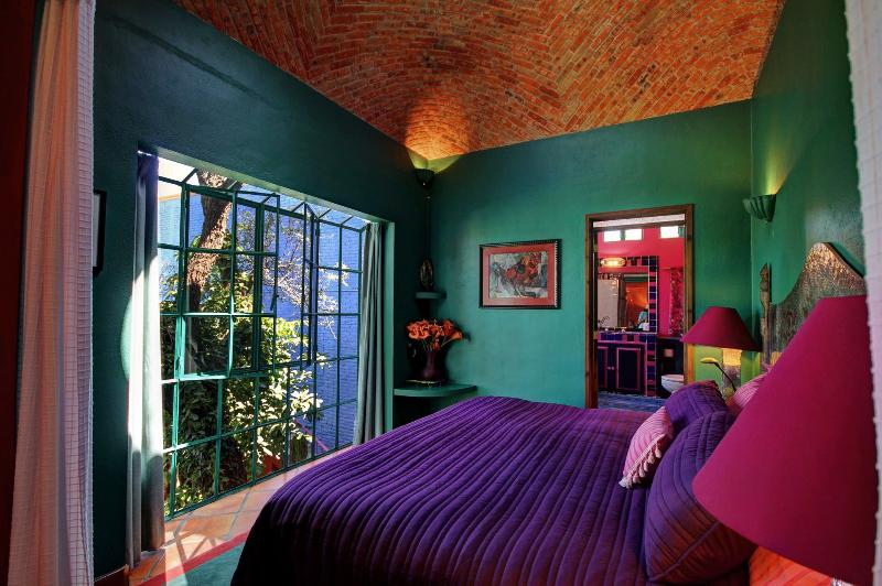 The Tree house suite is outfitted with a King-Size Bed, Air Conditioning and more!