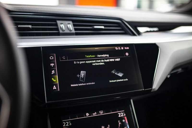 "Audi e-tron 55 Quattro *4% Bijtelling / Hulppakket Stad & Tour / 22"" / Topview* afbeelding 10"