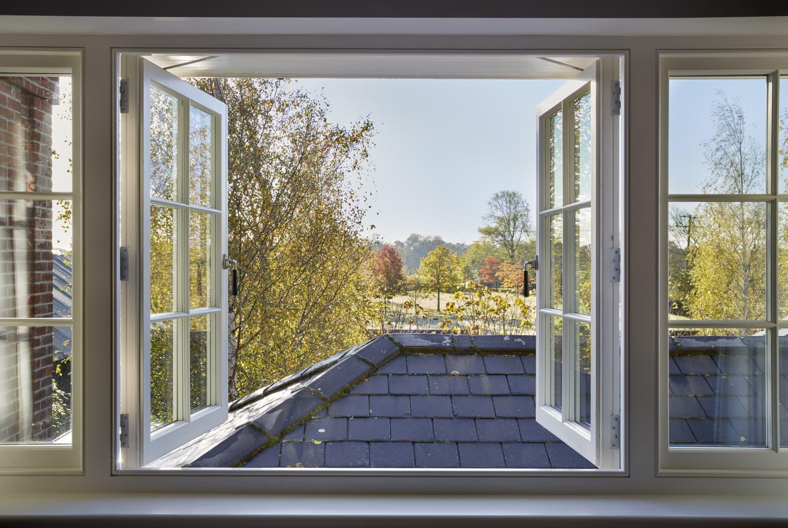 French window photo