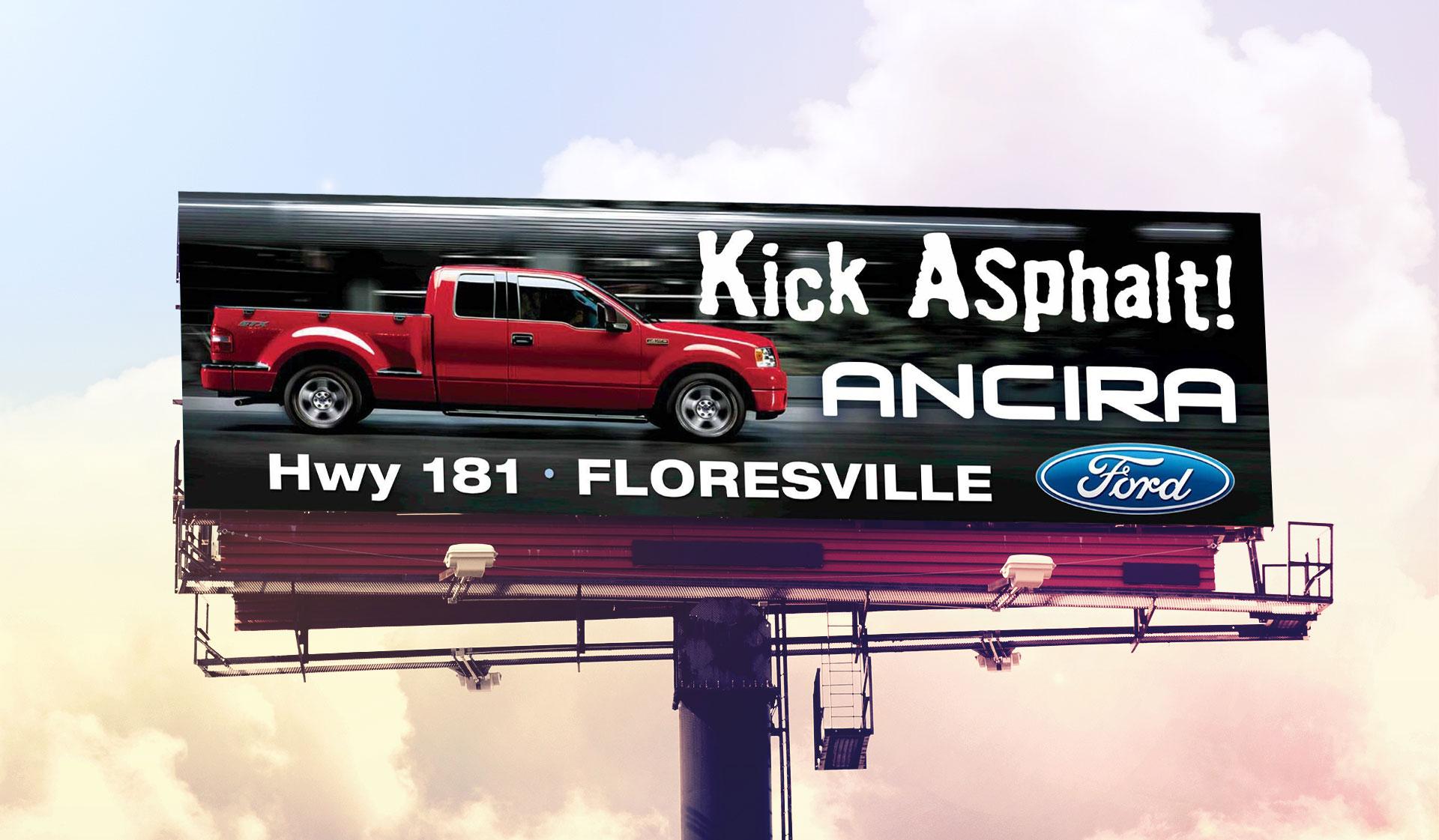 Ancira Truck Billboard