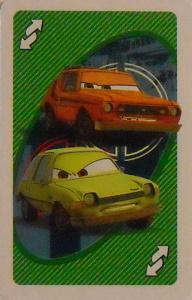 Cars 2 Uno Reverse Card