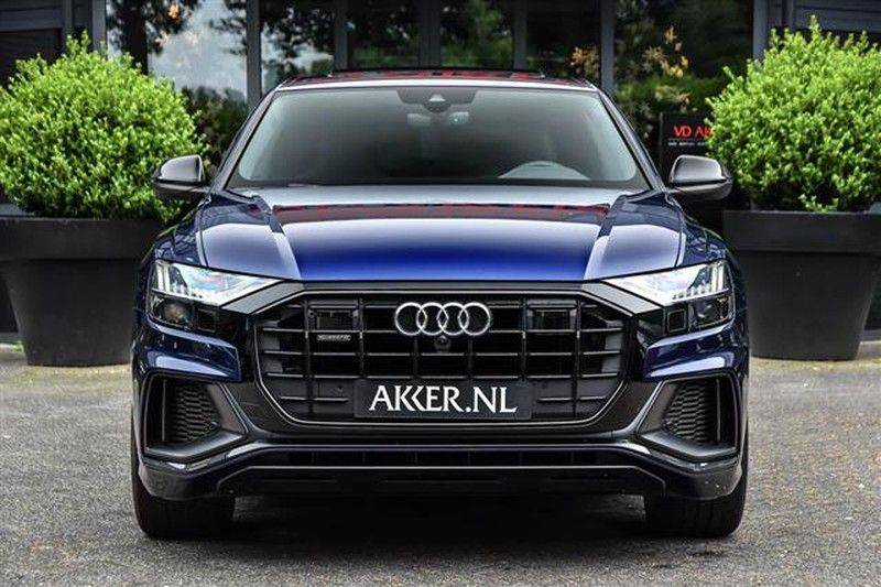 Audi Q8 55 TFSI S-LINE+23INCH+PANO.DAK+360CAM+BLACKLOOK afbeelding 15