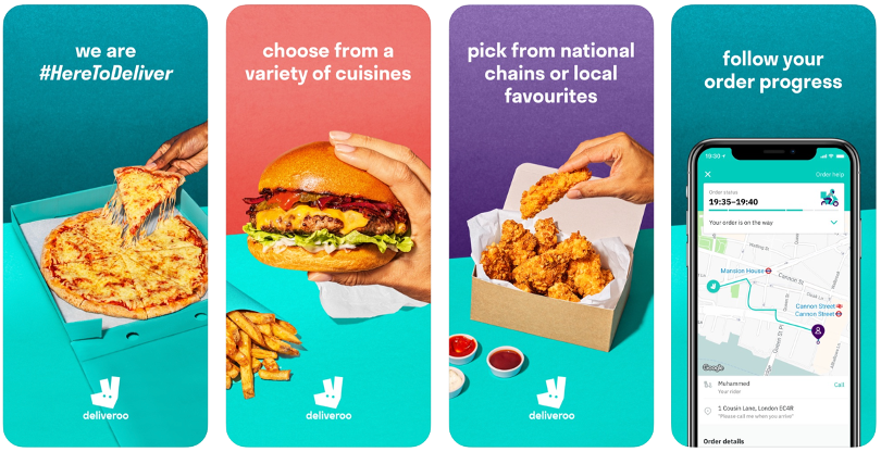 Deliveroo Screenshots