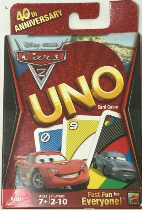 Cars 2 Uno