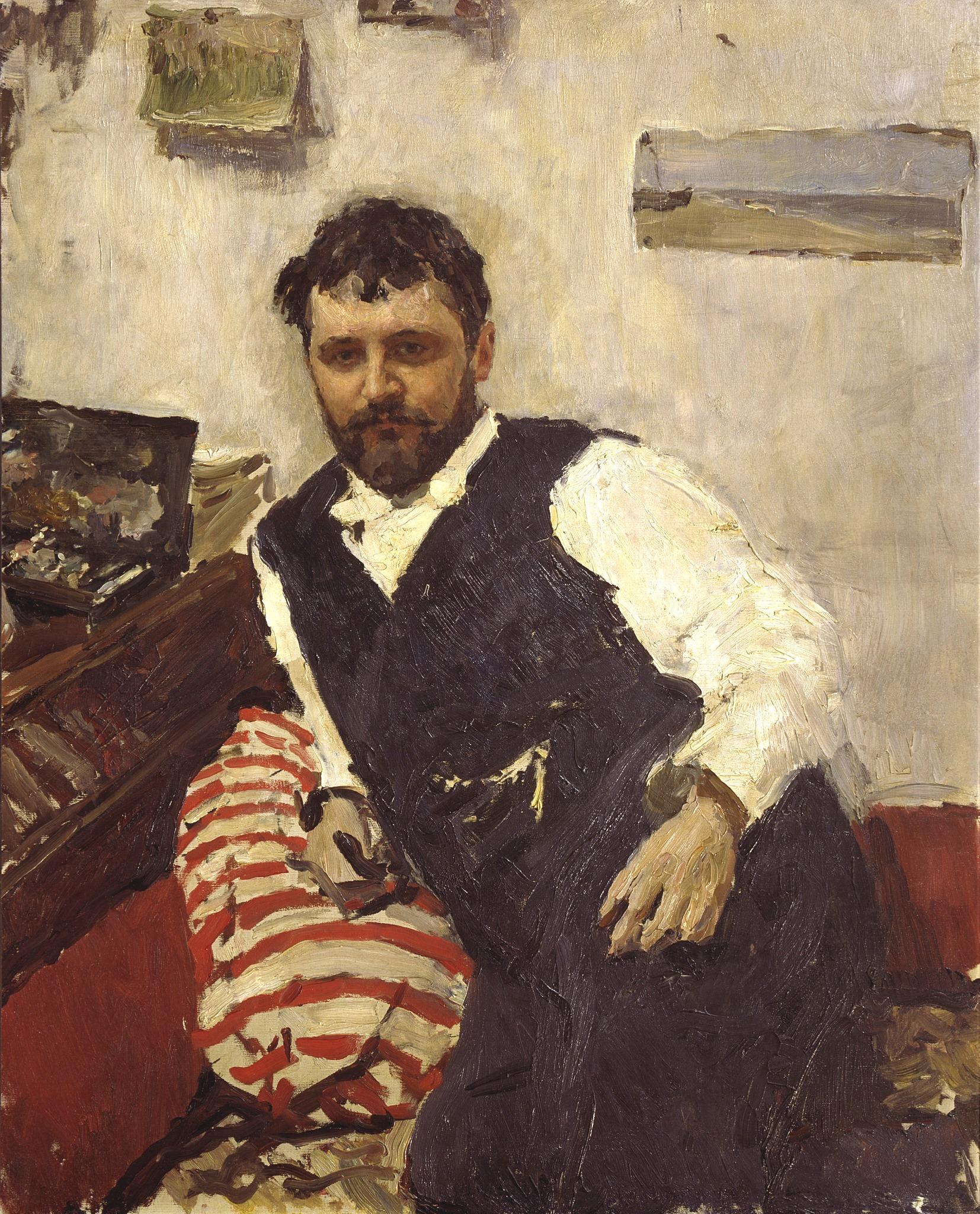 Валентин Серов. Портрет Константина Коровина. 1891. Источник: wikipedia.org