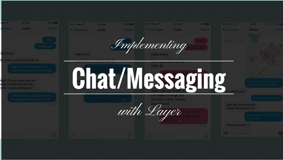 Implementing Chat Messaging in iOS apps 1 or5whr