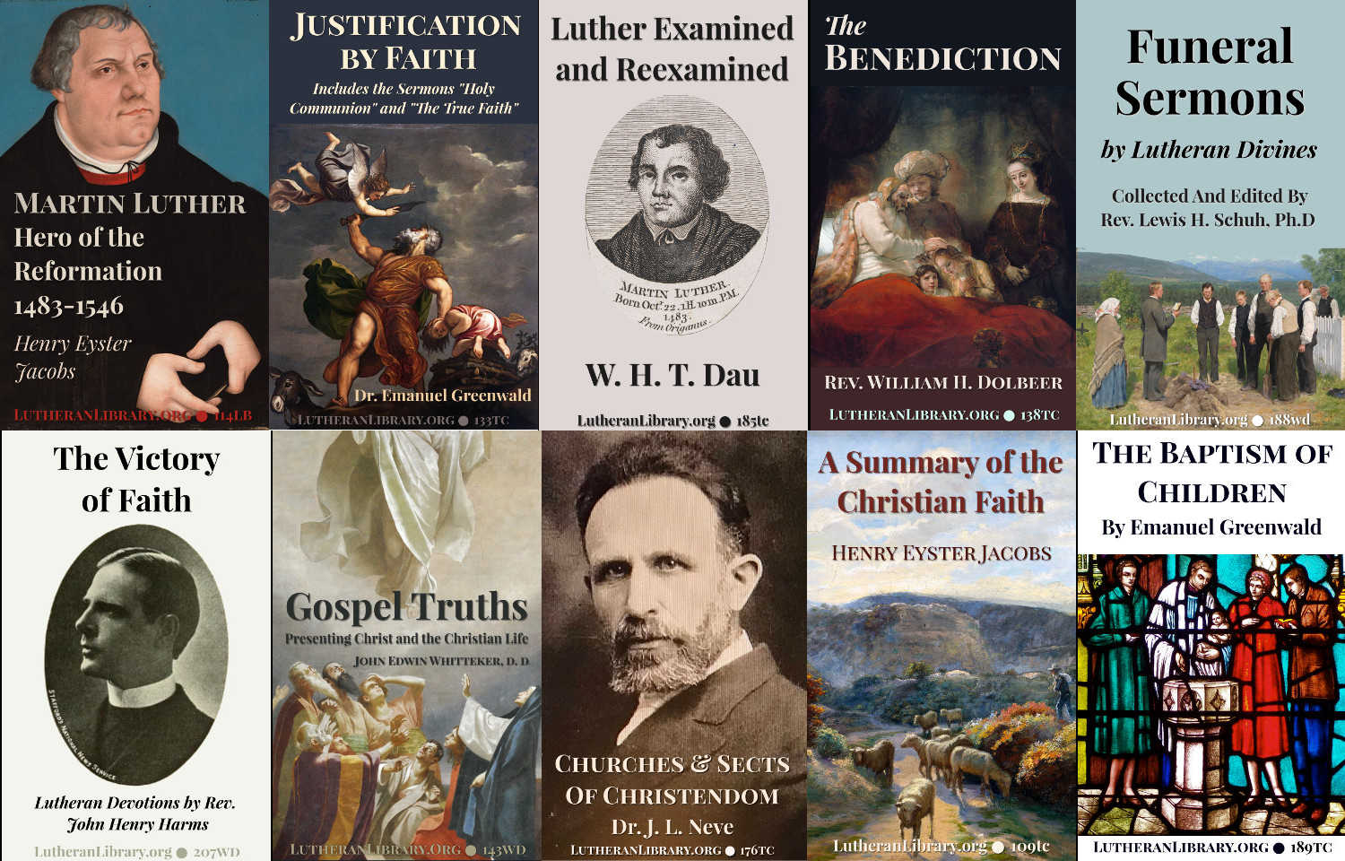 Available Books | Lutheran Library Catalog Fall-Winter 2018
