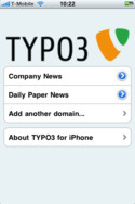 TYPO3-iPhone
