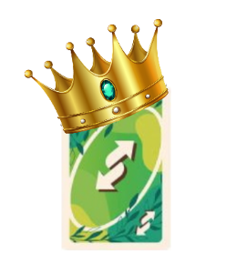 King Uno Reverse Card