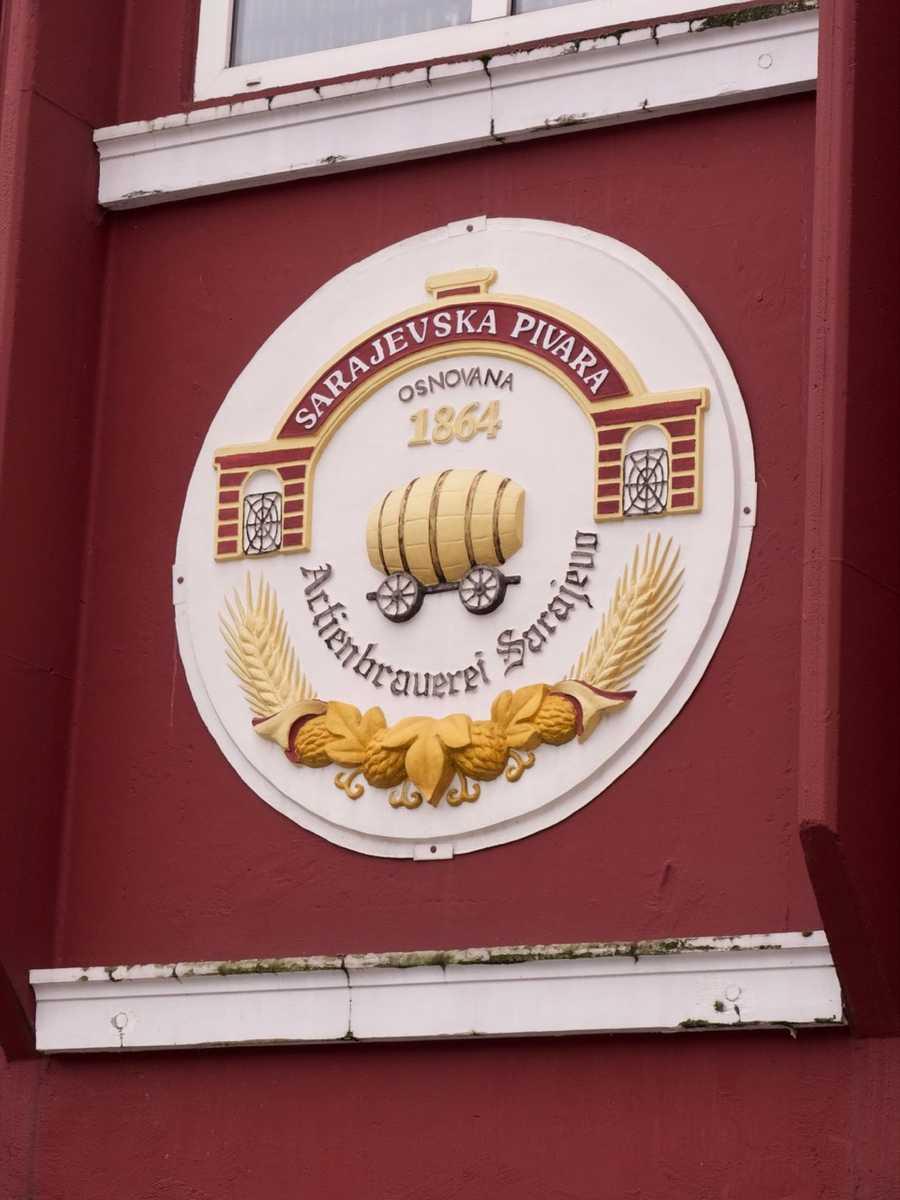 A local Sarajevo brewery