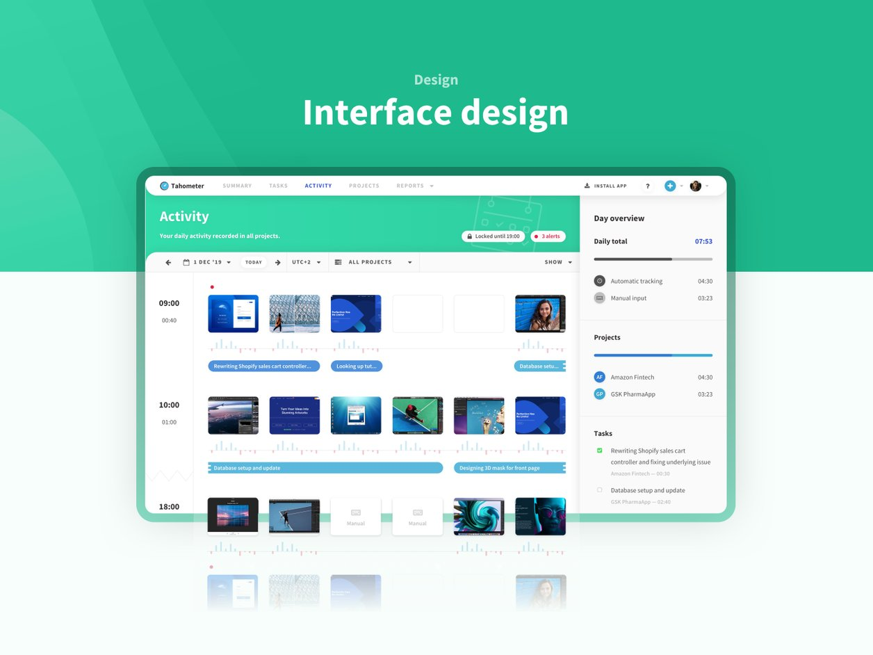 User Experience Design - UX Design | Tahometer