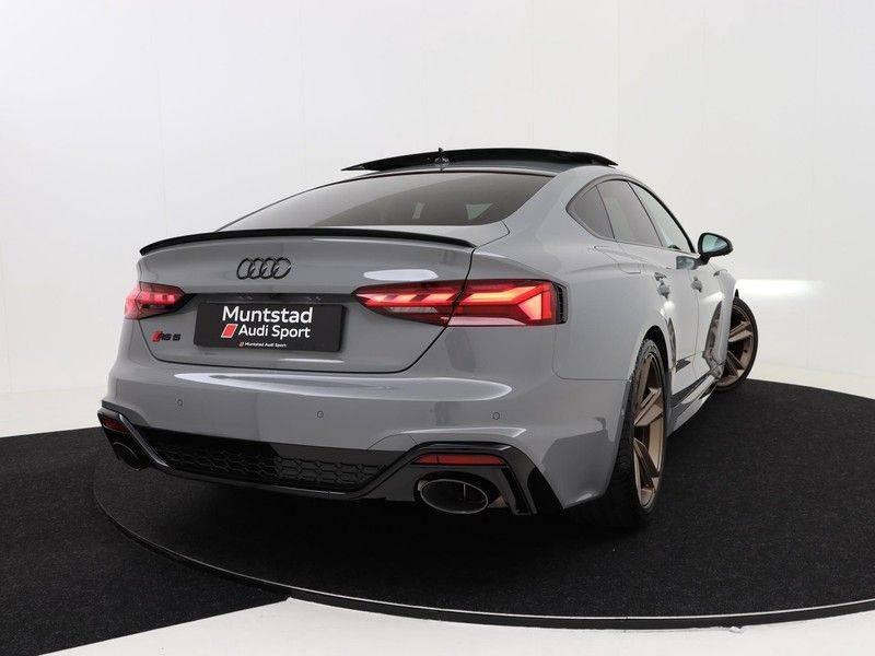 Audi RS5 Sportback 2.9 TFSI quattro | 450PK | Panoramadak | Stoelventilatie/verwarming | Bang & Olufsen | Top view camera | Matrix LED Laser | RS Sportuitlaat | 20'' inch brons | Verlengde fabrieksgarantie afbeelding 3