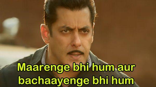 Salman Khan in Dabangg 3 Trailer Maarenge Bhi Hum Aur Bachayenge Bhi Hum