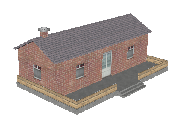 House visual mesh