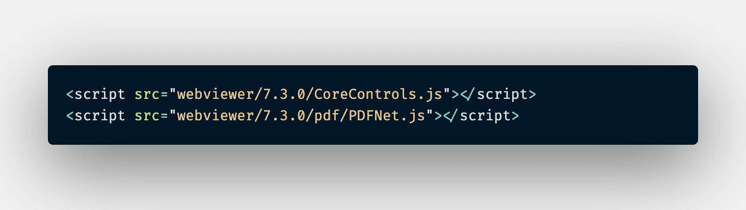 PDFTron scripts