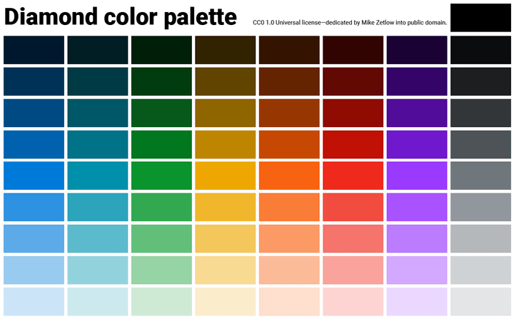 diamond how to design colors for your app with adobe illustrator plus 3 free palettes