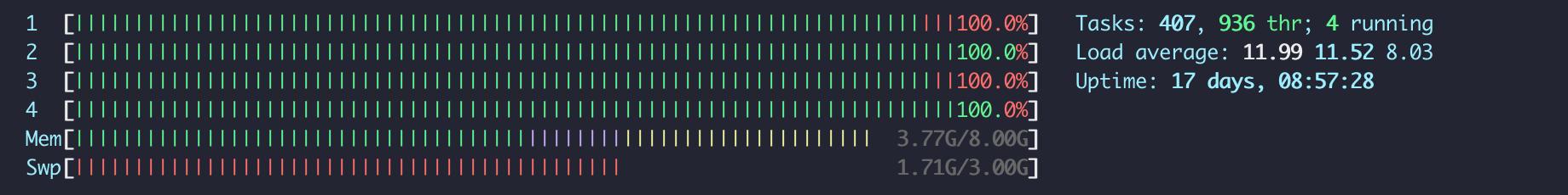 Multi-processes script