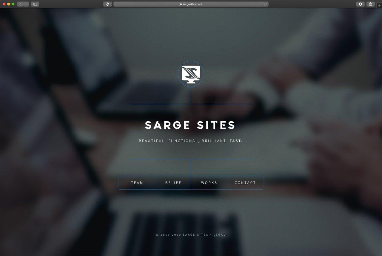 Sarge Site Homepage
