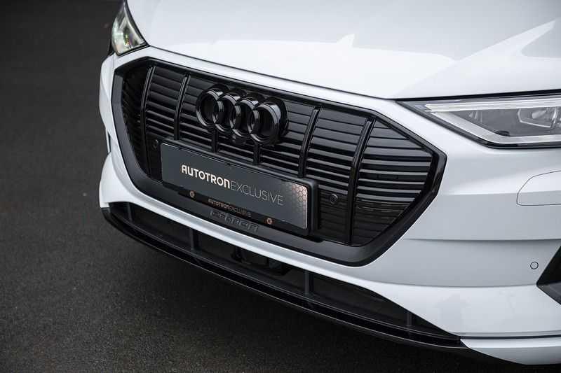 "Audi e-tron e-tron 55 quattro advanced Pro Line S 4% bijtelling!! DEC. 2018!! € 146,- netto bijtelling pm! Head-up + B&O etc. Tot januari 2024 4% bijtelling!! Prijs inclusief 22"" velgen afbeelding 2"
